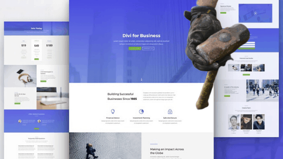 How Long Does It Take To Build a WordPress Website divi