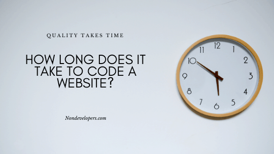 How Long Does It Take to Code a Website