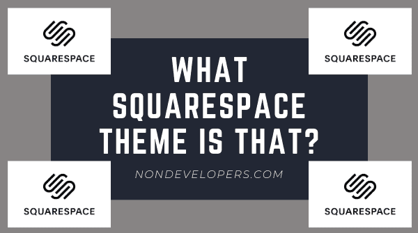 What Squarespace theme is that